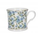 Blå blomma (porslinsmugg)