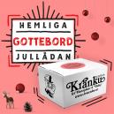 Hemliga jullådan - Gottebord