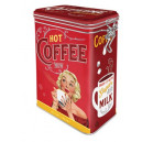 Plåtburk Hot coffee 400 g