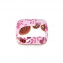 Pillerburk rosa med katt