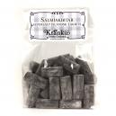 Salmiakbitar - supersalt isländsk lakrits
