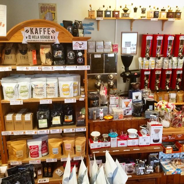 Kaffehyllan på Kränku