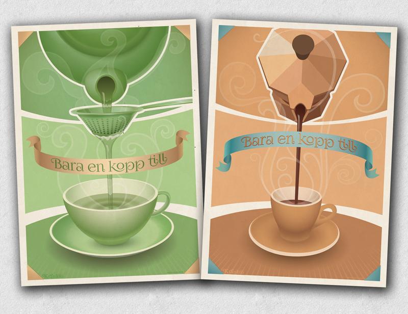 Bara en kopp till (te och kaffe) liten
