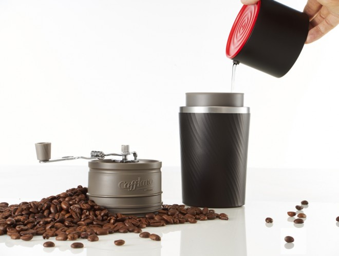 Gott kaffe på resande fot med Cafflano