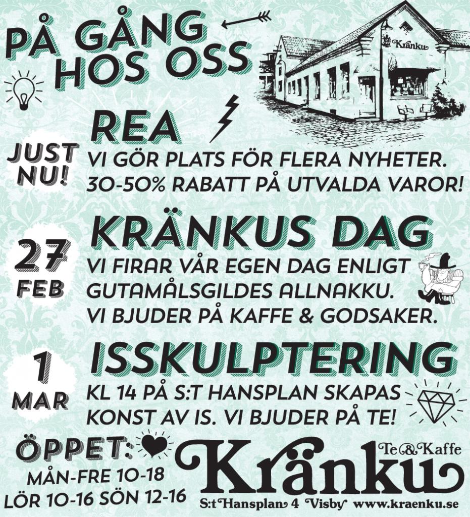 På gång på Kränku