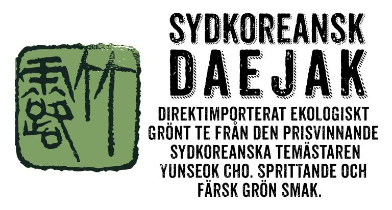 Sydkoreansk Daejak (etikett)